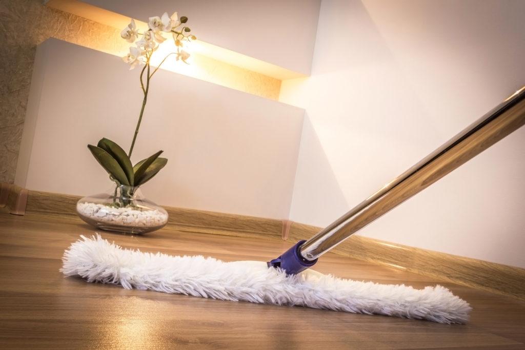 Reinigung von Privathäusern, Büros und Geschäftsräumen